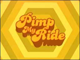 Pimp My Ride logo Pimp my Ride Tv Car Show and Game
