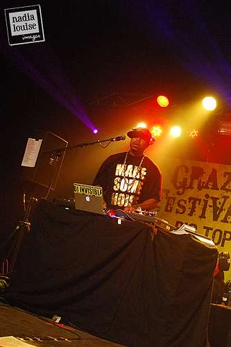 Xzibit's cousin DJ Invisible