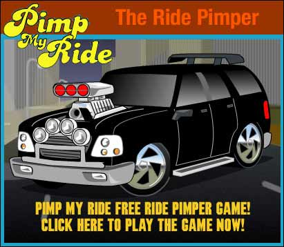 Pimp My Ride Ride Pimper Game - Click here to play it now!