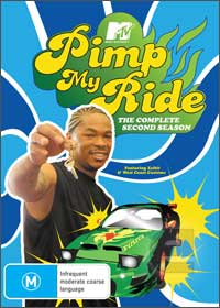 Pimp My Ride DVD Cover Season 2