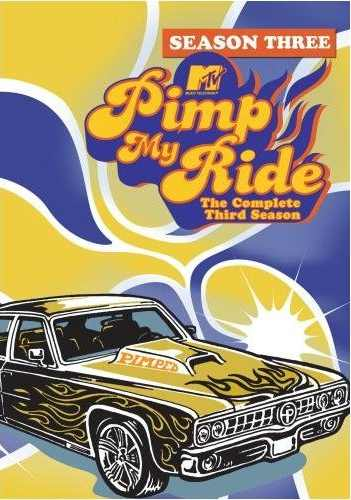 Pimp My Ride DVD Cover Season 3