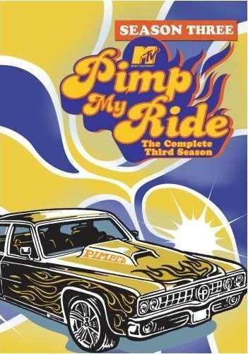 Pimp My Ride DVD Cover Season 3
