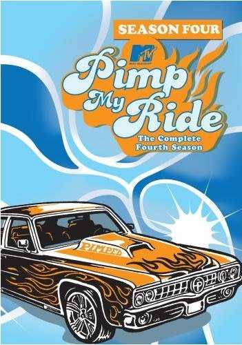 Pimp My Ride DVD Cover Season 4