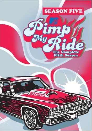 Pimp My Ride DVD Cover Season 5