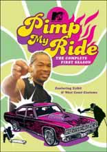 Pimp My Ride DVD Cover Season 1