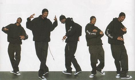 Snoop Dogg Picture doing the Crip Walk