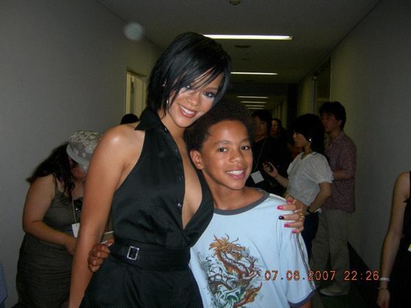 Xzibit's Son Tre with Rihanna