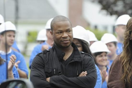 Xzibit at filming of ABC's Extreme Home Makeover