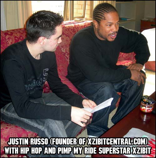 Xzibit and Justin in 2007