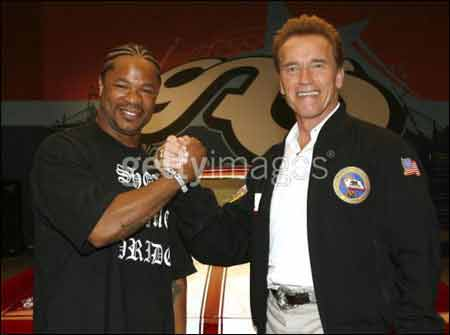 xzibit schwarzenegger1 Pimp my Ride Tv Car Show and Game