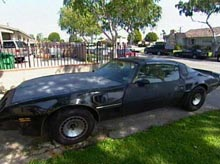 Danelle's Trans Am before pimping