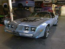 Danelle's Trans Am after pimping
