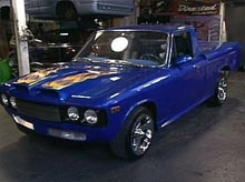 Neil's Chevy 'luv' truck after pimping