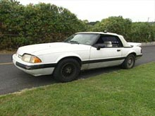 Shanda's '89 Mustang before pimping