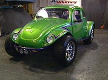 Krissy's VW Bug after pimping