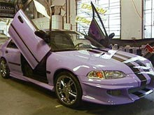 Christine's Civic after pimping