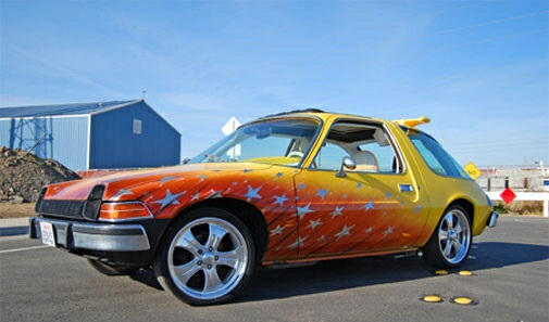 Jessica's AMC Pacer after pimping