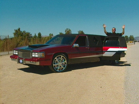 Joe's Cadillac Limo after pimping