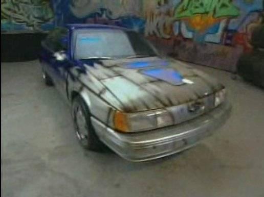 Rashae's Ford Taurus after pimping