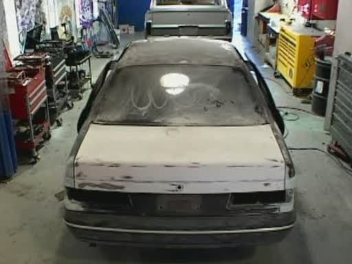 Rashae's Ford Taurus before pimping