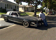 Big Ron's Cadillac before pimping