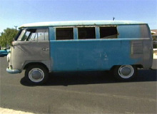 Ryan's Volkswagen Bus Before Pimping