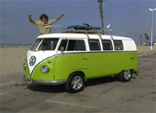 Ryan's Volkswagen Bus After Pimping