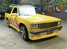 Erin's Chevy Blazer after pimping