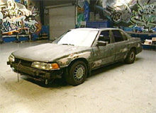 Josh's Acura Legend before pimping