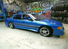Josh's Acura Legend after pimping