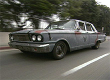 West's Ford Fairlane before pimping