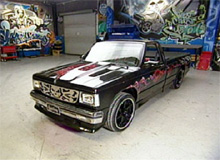 Sara's Chevy S10 after pimping