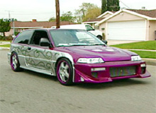 Tom's Chevy Caprice after pimping