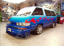 Vivian's toyota after pimping