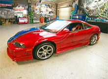 Eric's Mitsubishi Eclipse after pimping