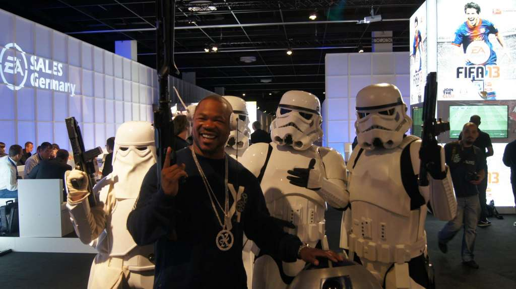 278444 426291627417799 1668186549 o 1024x574 Xzibit features at GamesCom 2012 in Germany with gaming accessory maker MonsterCable