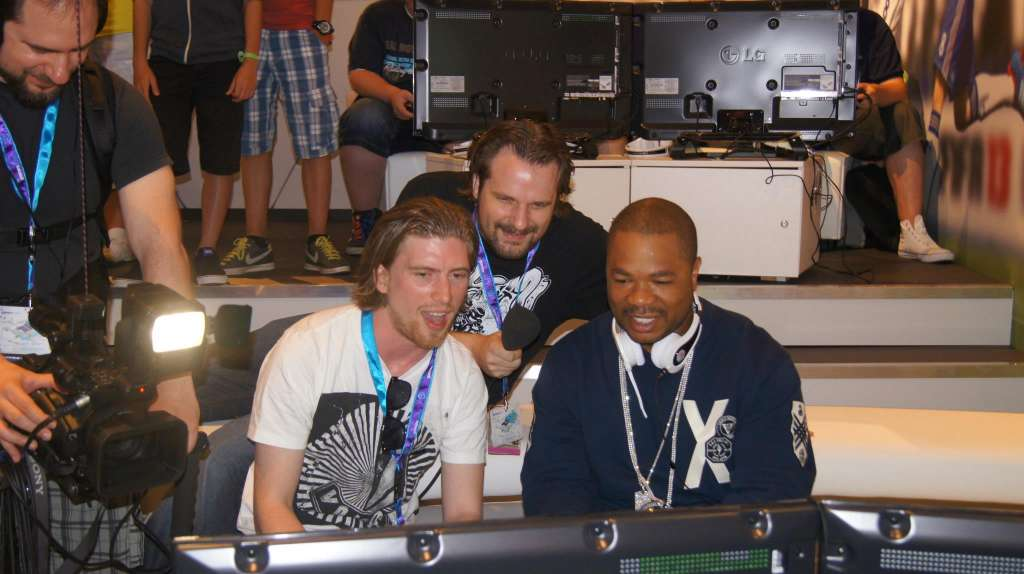 461281 426291940751101 1791405616 o 1024x574 Xzibit features at GamesCom 2012 in Germany with gaming accessory maker MonsterCable