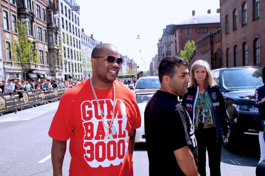 Xzibit at the Gumball 3000 Grid in Copenhagen