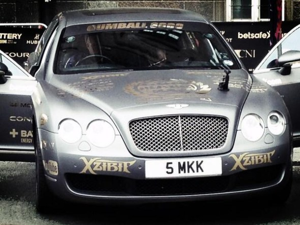 Gumball 3000 Xzibit Bonita Bentley