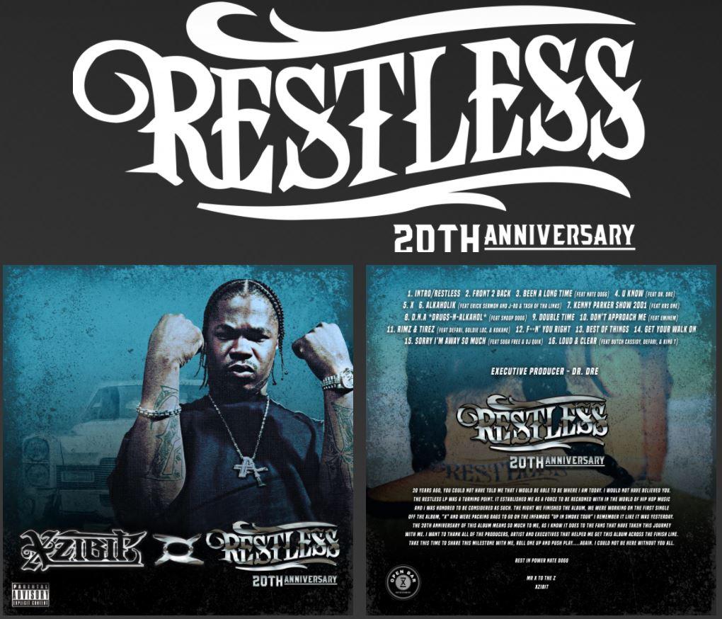 Restless 20th Anniversary