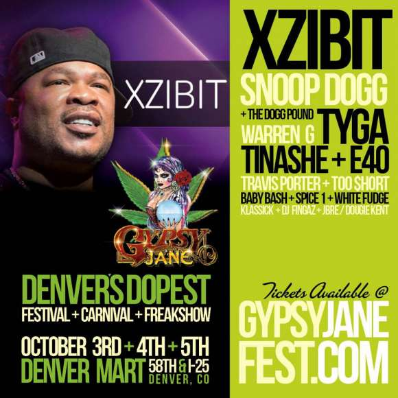 Xzibit to perform at Gypsy Jane Krunkyard Jubilee