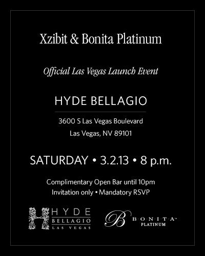 Xzibit Bonita Launch Party Las Vegas