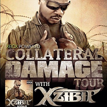 Xzibit Collateral Damage Tour XBOX Powered