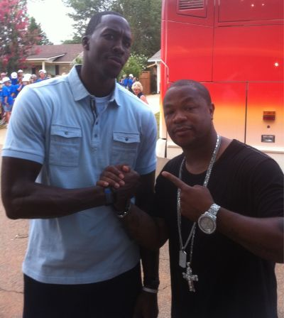 Xzibit with Dwight Howard