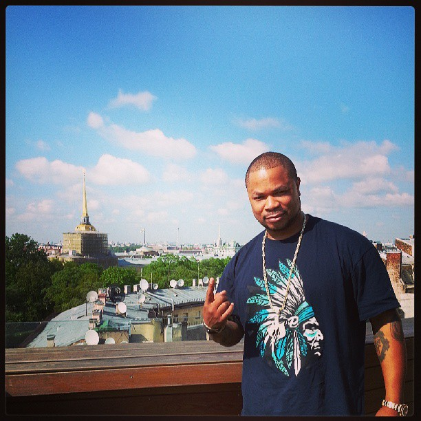 Xzibit in St Petersburg
