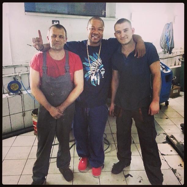 Russian mechanics that fixed the Bonita Bentley