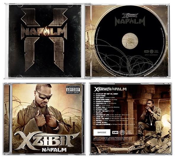 Xzibit Napalm Album Cover Inside CD Tracklist