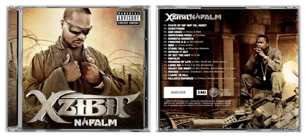 Xzibit Napalm Album Cover