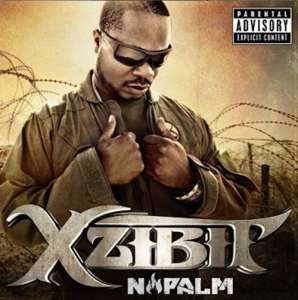 Xzibit Napalm album front cover lyrics from songs