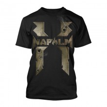 Xzibit Napalm Bullet Holes Black T Shirt